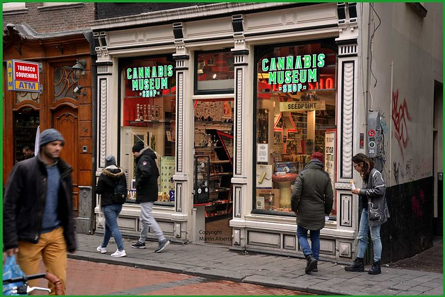 Cannabis Museum Amsterdam Red Light district