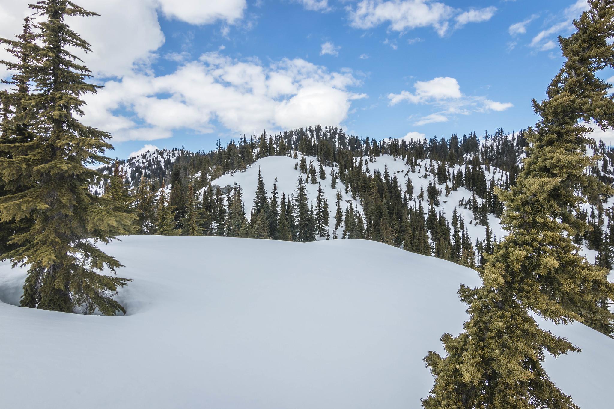 Salvation Peak summit up ahead
