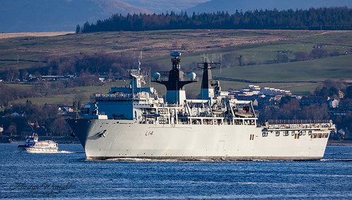 HMS Albion L14 Amphibious Transport Dock. | by Ratters1968: Thanks for the Views and Favs:)