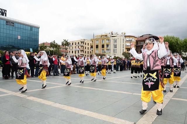 Alanya'da Turizm Haftası kutlandı