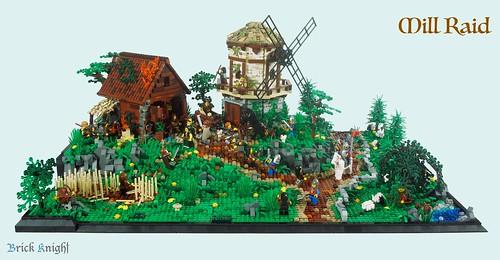 Mill Raid 1 | by Brick Knight