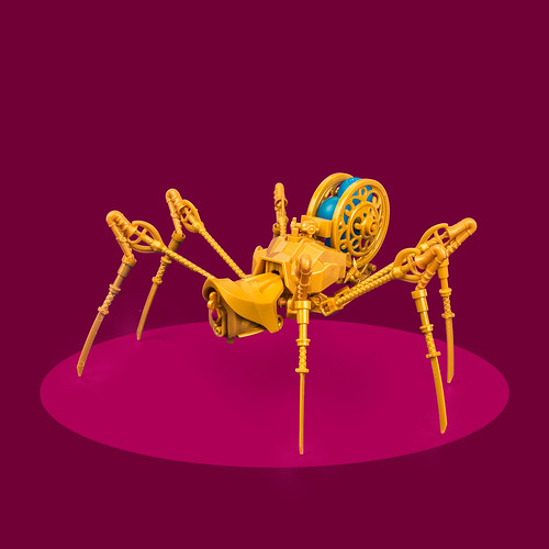 Mech Monday #11: Clockwork Crawler