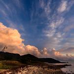 中道湾夕景 ー Evening scenery of the Chuudo Bay