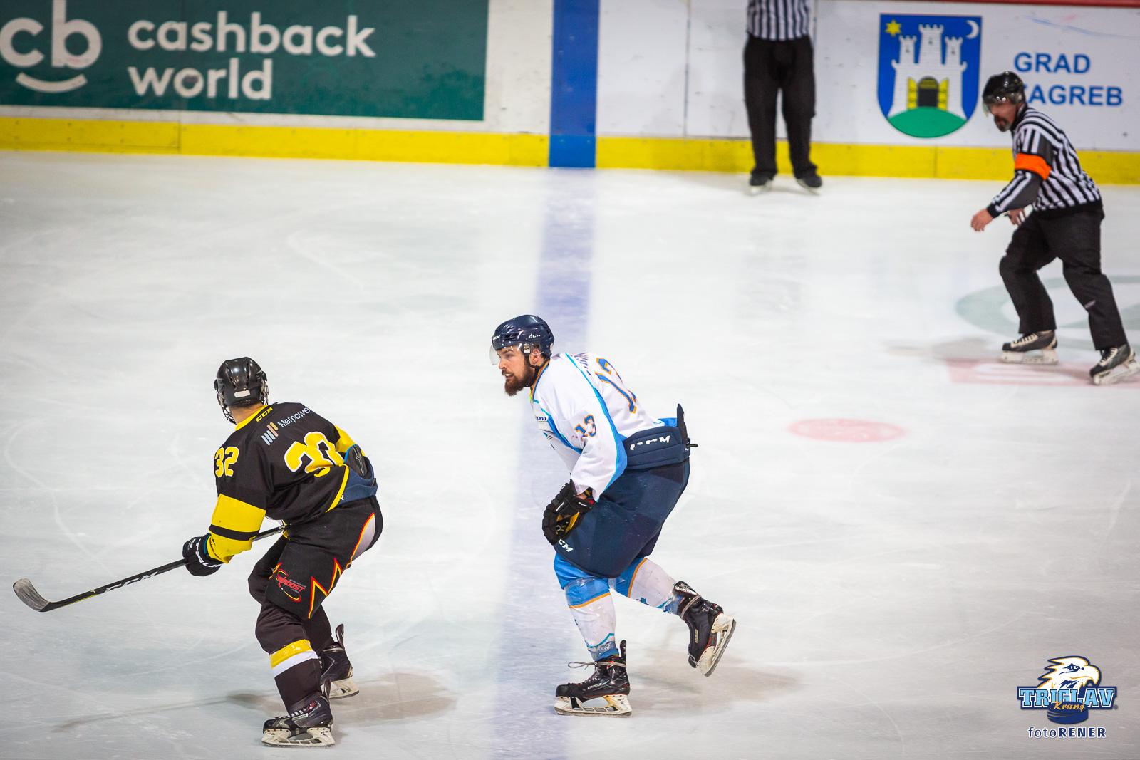 Tekma IHL člani KHL Mladost vs. HK Triglav, 16.2.2019