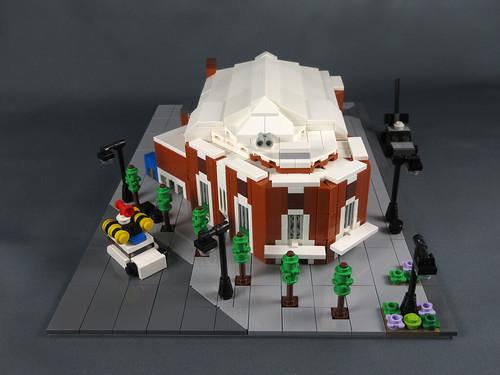 Mini LEGO Letchworth Broadway Cinema