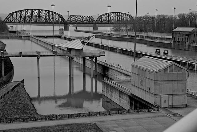 Mcalpine Locks at Louisville, Kentucky