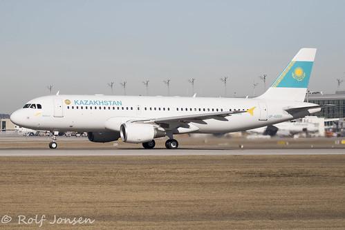 UP-A2001 Airbus A320 Government of Kazakhstan Munich airport EDDM 17.02-19 | by rjonsen