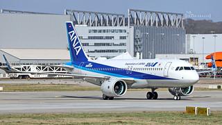 JA218A All Nippon Airways Airbus A320-271N (D-AXAU) | by thule100