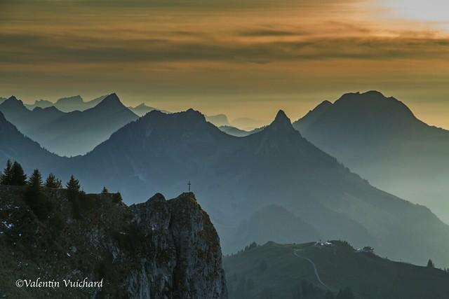SF-IMG_8606 - View on the Gruyerian prealps, Gruyère region - Switzerland