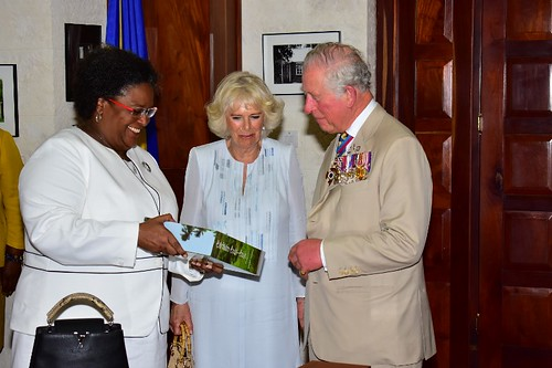 Prime Minister Mia Amor Mottley meets Their Royal Highnesses (3) | by barbadosgovernmentinformationservice