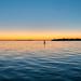 Venice Lido sunset