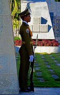 honor guard @ jose marti's tomb