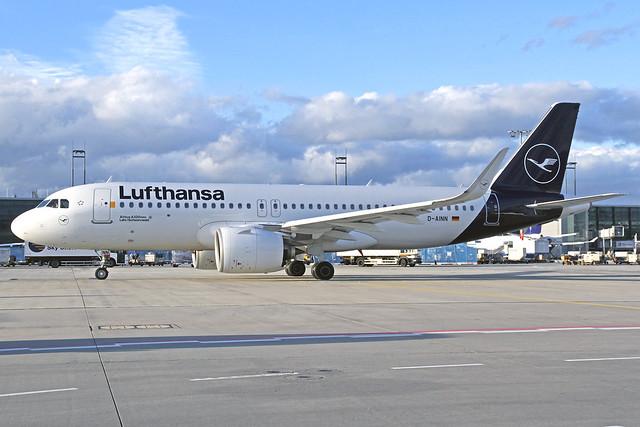 Lufthansa Airbus A320-271 D-AINN
