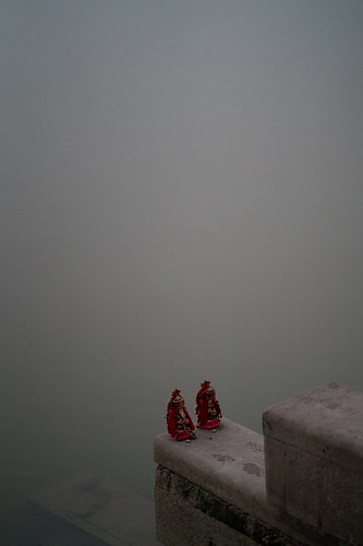 On the ghats of Varanasi | by A. adnan