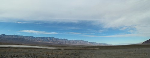 1399 Panorama view northwest from the parking area at Sidewinder Canyon in Death Valley   by _JFR_