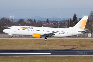 9H-ZAZ Air Horizont Boeing 737-400, Maastricht Aachen Airport - EHBK/MST | by neplev1