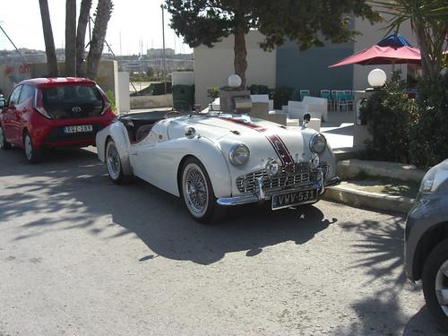 TRIUMPH TR 3 Malta road scene | by Cauchi_A