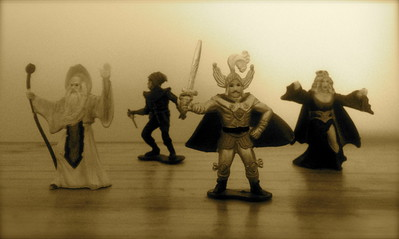 Dungeons & Dragons Mini Figures by LJN (1984)