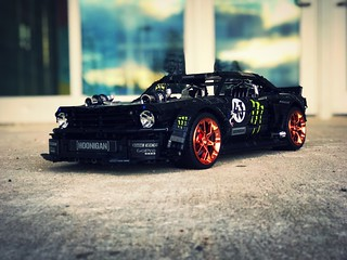 Ford Mustang Hoonicorn - Filter fire 🔥  Chrome Rims from Bubul chrome shop - follow insta @loxlego | by loxlego