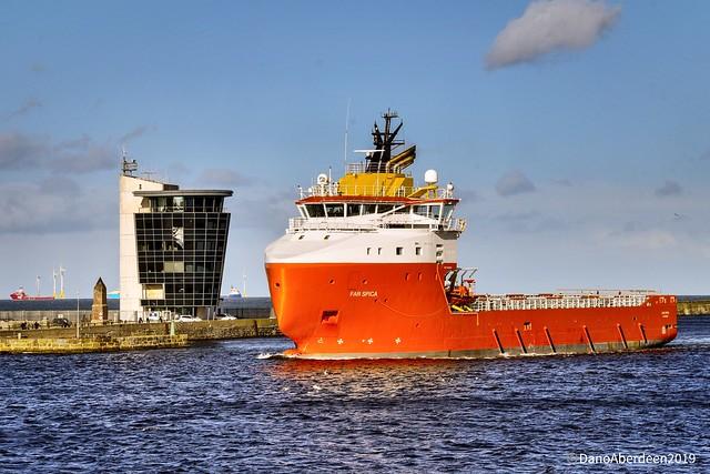 Far Spica - Aberdeen Harbour Scotland - 9th March 2019