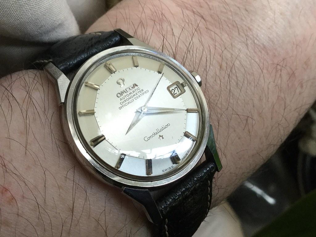 Omega pie pan Constellation calibre 561 circa 1966