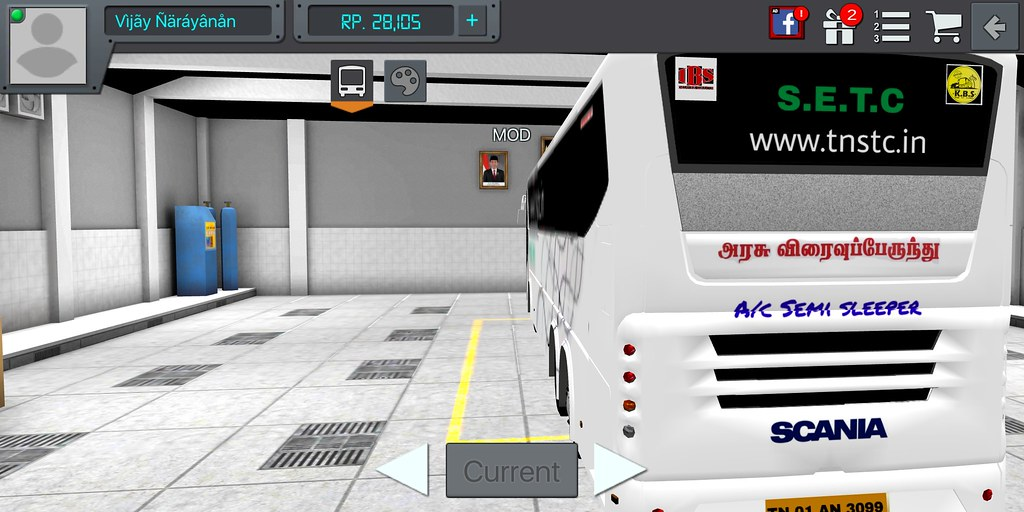 SETC in BUSSID Bus simulator Indonesia #SCANIA_Metrolink