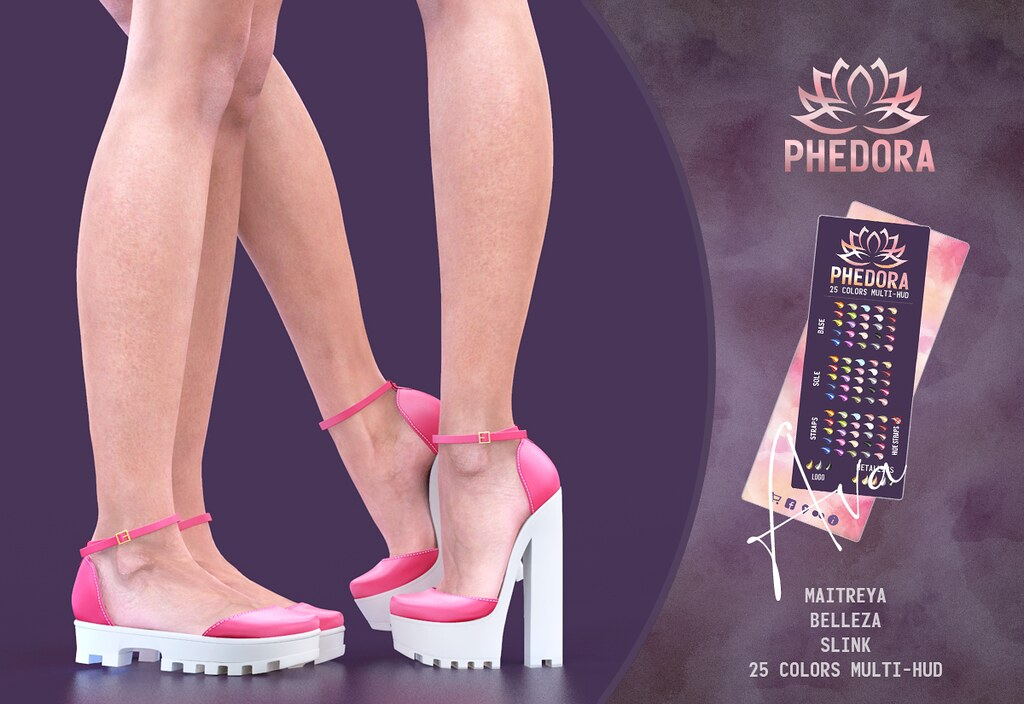 "Phedora. for Belle. Events – ""Ava"" flats & Platforms ♥"