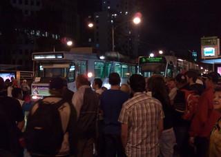 Melbourne trams after the Grand Prix, March 2009 | by Daniel Bowen