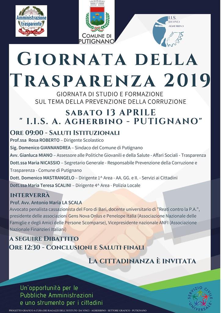 Giornata trasparenza 2019