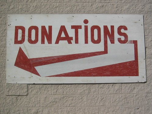 Donations sign | by Eric__I_E