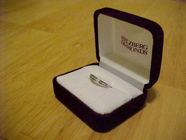 Annie's engagement ring