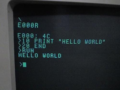 Hello World | by mrbill