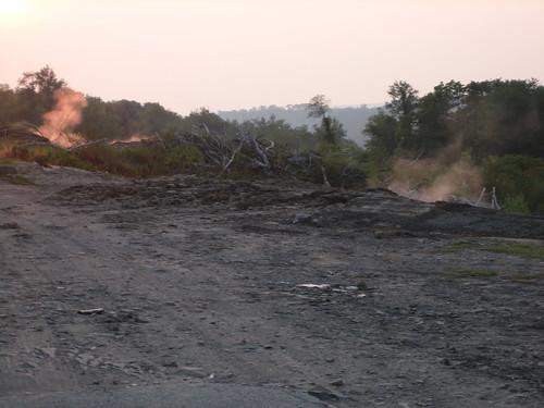 smoke gas centralia minefire
