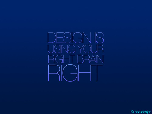 Design Is Using Your Right Brain Right | by macmaniacttt