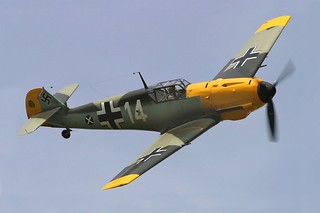 BF109E Messerschmitt | by Armchair Aviator