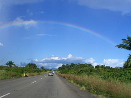 Rainbow over Liberia   by kippster