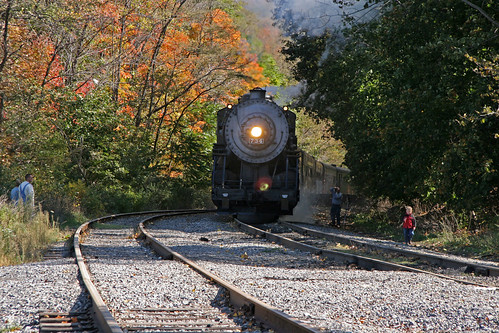 Western Maryland Railroad @ Frostburg 14 Oct 2006 100 | by smata2