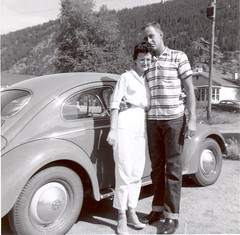 My Parents in 1958 - Idaho Springs, Colorado | by gregor_y