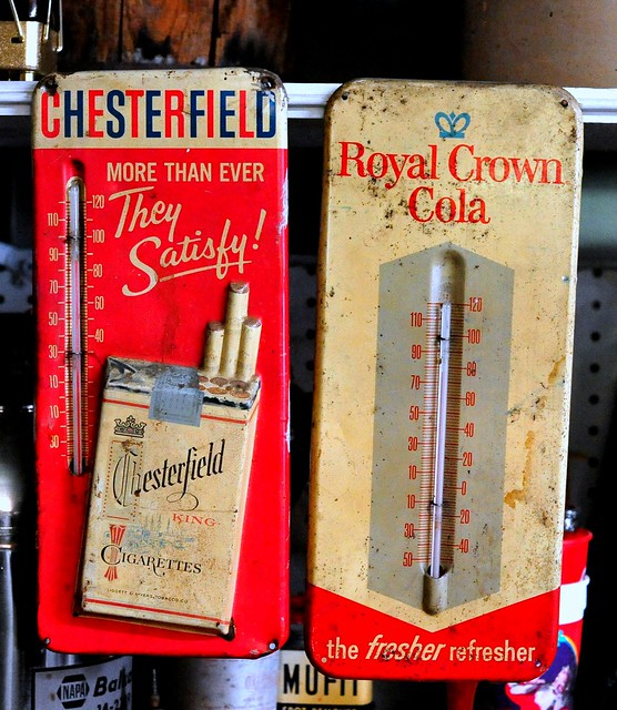Chesterfield King - Royal Crown Cola Thermometers - Tallulah,Louisiana