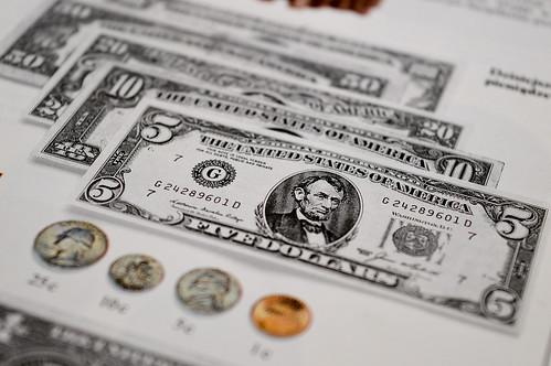 United States five-dollar bill