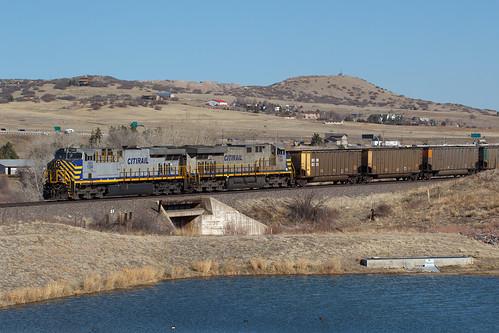 citirail crex crex1306 ge generalelectric es44ac castlerock colorado jointline train railroad leaser
