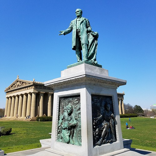 The Parthenon in Centennial park in Nashville Tennessee.Nice pleasant Spring day today.#philliprigginsphotography #phillipriggins #Philfeedback | by http://www.philliprigginsphotography.com/