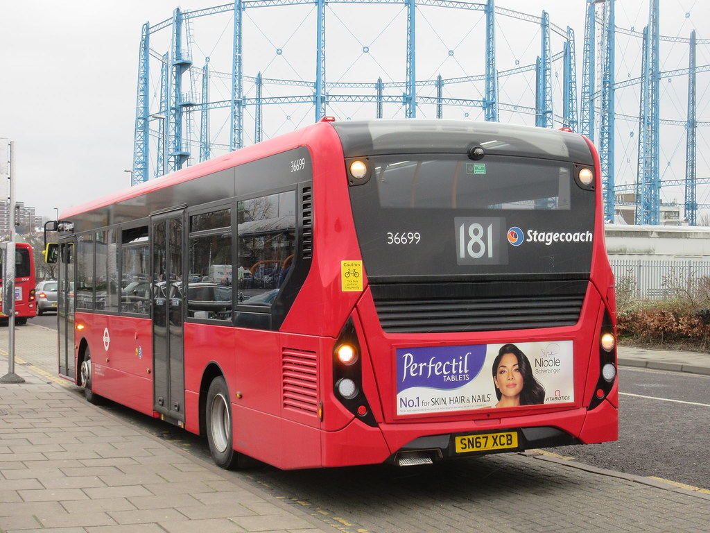 Brand New Stagecoach 36699 Sn67xcb On Route 181 First Day