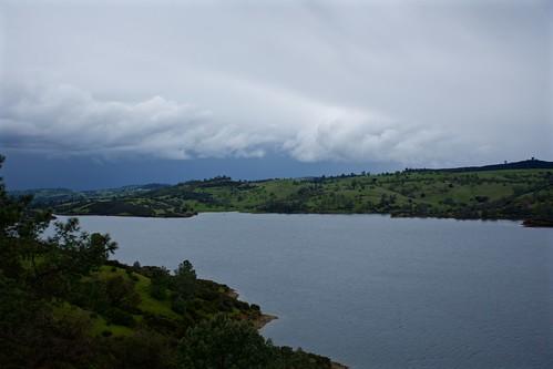 amadorcounty pardeedamroad california clouds weather landscape skyscape rain