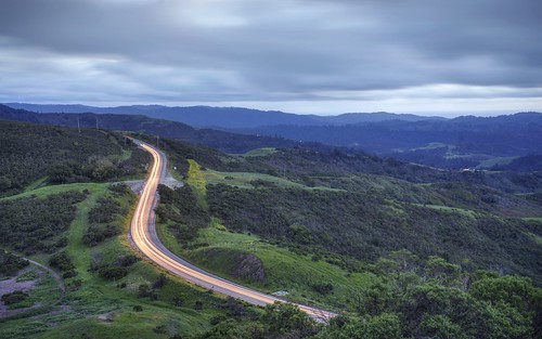 woodside paloalto california siliconvalley sanfranciscobay sanfranciscobayarea southbay windyhill landscape road field grass hill wood forest dusk bluehour night cloud cloudy outdoor sony sonya7 a7 a7ii a7mii alpha7mii ilce7m2 fullframe fe2870mmf3556oss 1xp raw photomatix hdr qualityhdr qualityhdrphotography sky lightstream light fav200