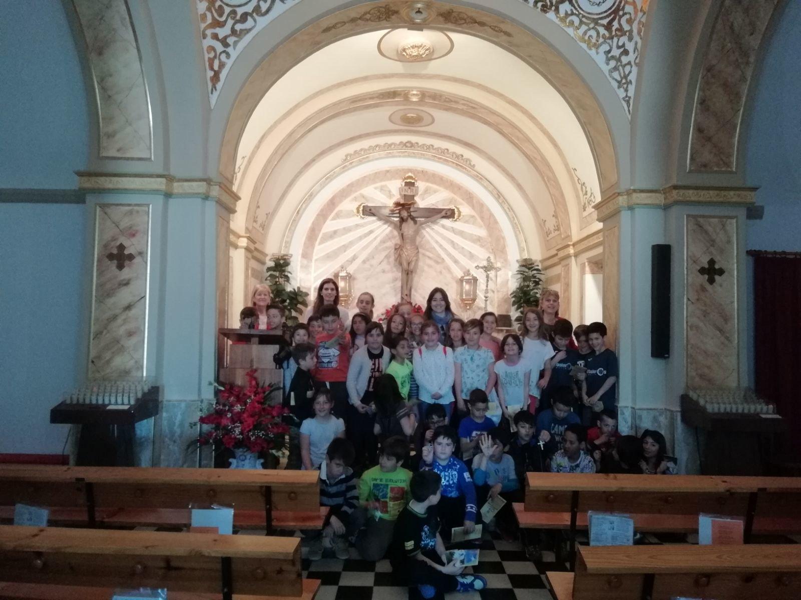 (2018-04-18) - Visita ermita alumnos Beatriz-Carmina-Lucía,3º,La Foia - María Isabel Berenguer Brotons - (10)