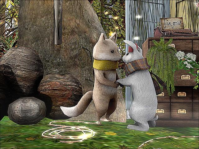 Milkwood Fox Rocks Poets Open Mic -Everybunny Needs Some Bunny