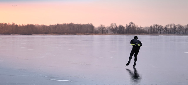 The lonely skater