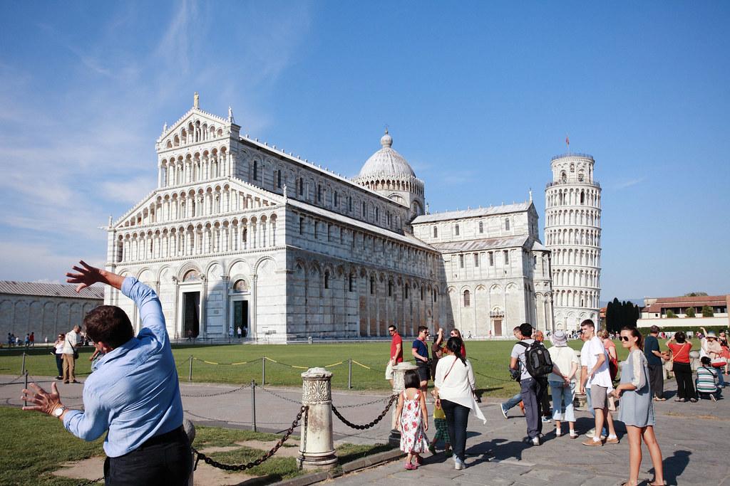 義大利自助旅行 Day 9(比薩斜塔翻過來又轉過去)