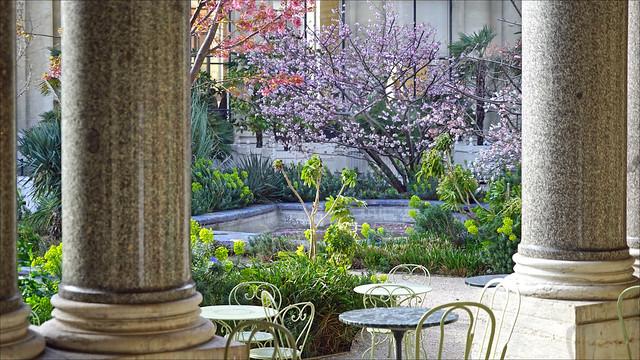 Le jardin du musée du Petit Palais à Paris